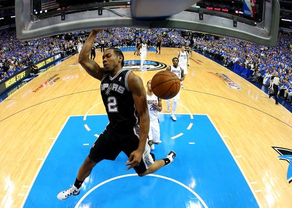 Kawhi+Leonard+San+Antonio+Spurs+v+Dallas+Mavericks+G6iDlakIdill
