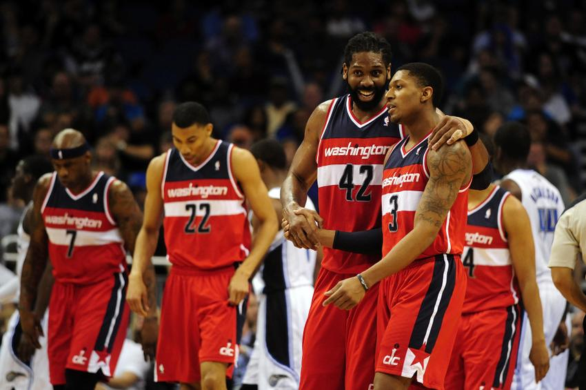 nene-hilario-bradley-beal-nba-washington-wizards-orlando-magic