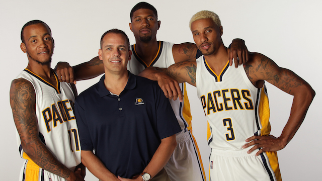 Indiana Pacers Media Day 2015