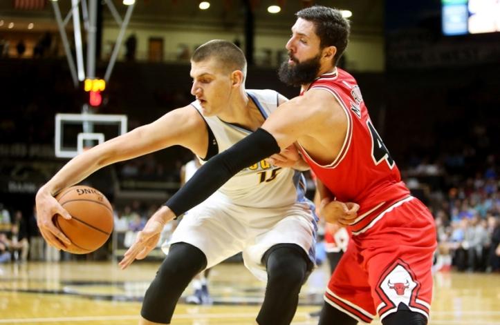 NBA: Preseason-Chicago Bulls at Denver Nuggets