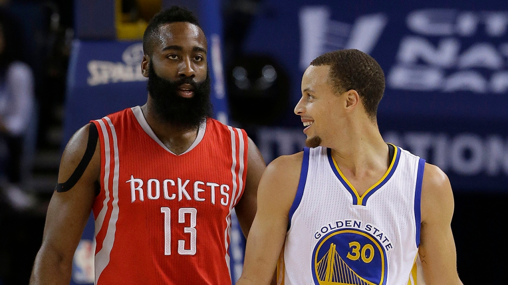 Stephen Curry, James Harden