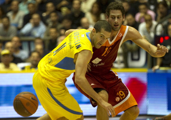 Lottomatica Roma player Vladimir Dasic (